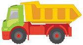 Truck toy — Stock Vector