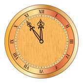 Old clock — Stock Vector