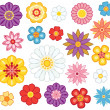 Flower set — Stock Vector #5360549