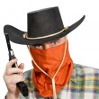 Man in a cowboy hat — Stock Photo #4668054