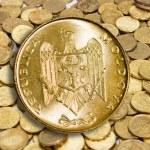 Gold coin modern — Stock Photo