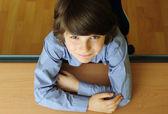 Schoolboy — Stock Photo