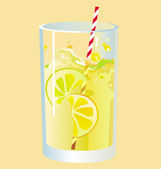 Cocktail — Stockvector