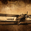 Old aircraft — Stockfoto #4351352