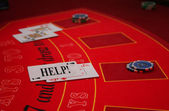 Black Jack - Casino - Card - Game - Help — Stock Photo