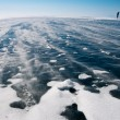 Shooting of winter Baikal — Stock Photo