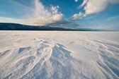 The frozen Baikal — Stock Photo