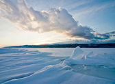 Lake Baikal, winter — Stock Photo