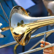 Stock Photo: Trumpet in Orchestra