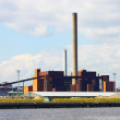 Coal Power Station Panorama - Stock Photo