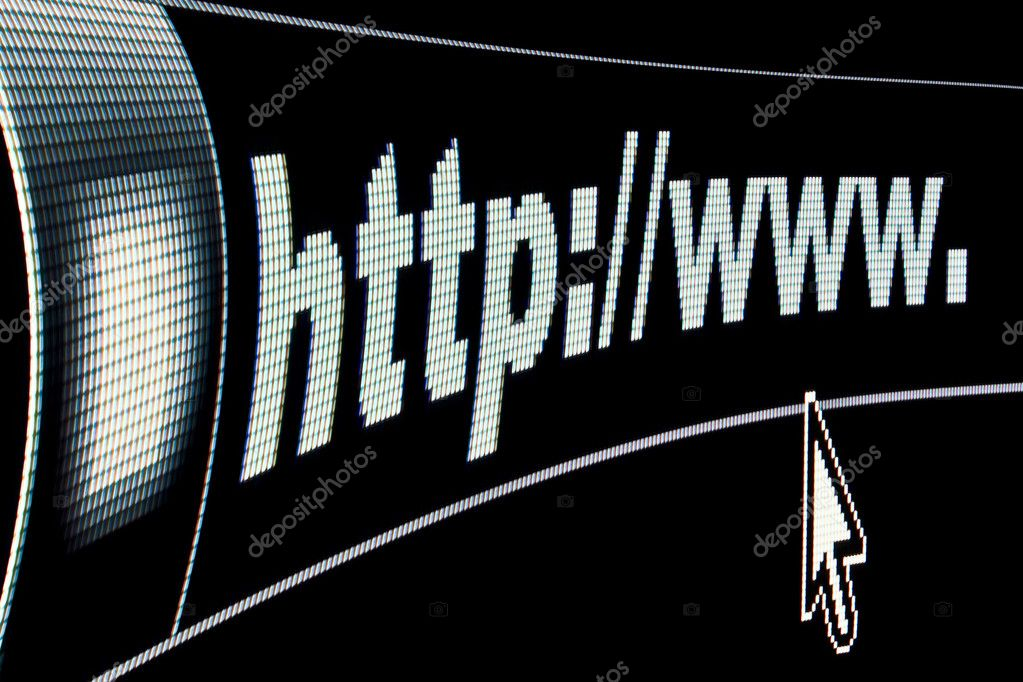 Internet WWW concept HTTP URL address — Stock Photo #4380310