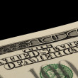 US One Hundred Dollar Bill Macro — Stock Photo