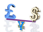 Currencies — Stockfoto