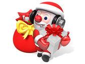 Boże narodzenie stanie santa 3d — Zdjęcie stockowe