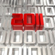 3d 2011 in the digital world — Stock Photo #4464115