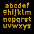 3d alphabet spelling art — Stock Photo