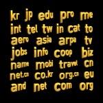 3d alphabet spelling art — Stock Photo #5143966