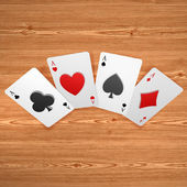 3d create playing card art — Stockfoto