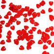 Background of small red hearts — Stock Photo