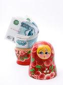 Deposit money — Stock Photo