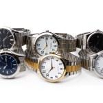 Range of watches — Stock Photo