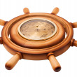 Stockfoto: Barometer of handwheel