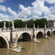 Stock Photo: Ponte Sant Angelo, Rome