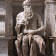 Stock Photo: Moses by Michelangelo