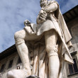 Sculpture in Pisa, Italy — Stock Photo #4438967