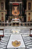 Rome church — Stock Photo