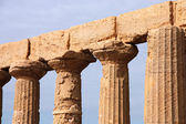 Doric temple — Stock Photo