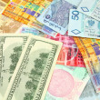 Currency trading - Stock Photo