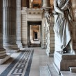 Brussels, Justice Palace - Foto Stock