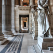 Brussels, Justice Palace - Stockfoto