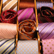 Elegant ties — Stock Photo