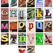 Alphabet — Stock Photo #4459668