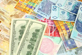 Currency trading — Stock Photo
