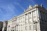 Madrid kraliyet sarayı — Stok fotoğraf