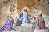 Ascension of Jesus Christ — Stock Photo