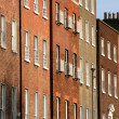 Brick buildings — Stock Photo #4462849