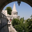 Fishermen's bastion in Budapest, Hungary — Stock Photo