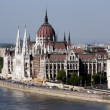 Hungarian parliament - famous landmark — Stock Photo