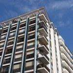 Almeria apartment building — Stock Photo