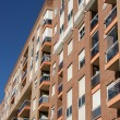 Spanish apartment building — Foto Stock