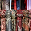 Textile shop - Stock Photo