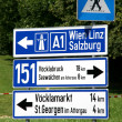 Royalty-Free Stock Photo: Road sign in Austria