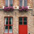 Brugge street - Stock Photo