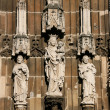 Saint sculptures - Stock Photo
