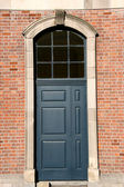 Dublin door — Stock Photo