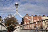 Ha'penny Bridge, Dublin — Stock Photo